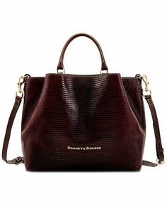 I am not really big on Dooney   bags anymore but this one is really cute.