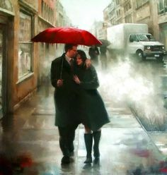 Tento captar a visão romântica mas realista da vida cotidiana...