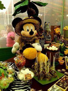 Mickey Safari party