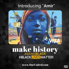 OneUnited Bank Launches 'Black Lives Matter' Debit Card