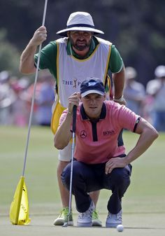 Martin Kaymer and Caddie Craig Connelly.....2014 Players final round.