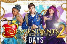 New promotional pic of Descendants 2. ¡¡¡¡Only 3 days!!!!
