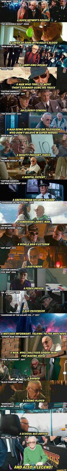 The creator of the Marvel Comics Stan Lee Marvel Avengers, Marvel Comics, Marvel Films, Marvel Heroes, Funny Marvel Memes, Marvel Jokes, Dc Memes, Avengers Memes, Funny Memes