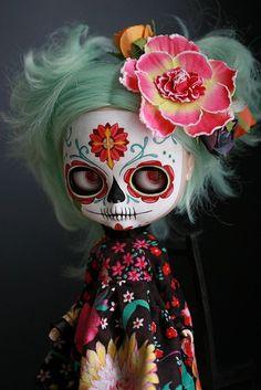 Inspiring festa de los muertos.
