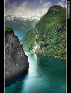✓Norway's Fjords. One of the most breathtakingly beautiful places I have ever been on earth!