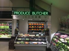 Most stores have a meat butcher. But wouldn't it be great to have a produce butcher instead? Meat Butcher, Made Goods, Veggies, Healthy, Vegetables, Health, Vegetable Recipes