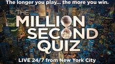 """NBC's ambitious gameshow """"Million Second Quiz"""" may not debut until Sept. but on iPhone and iPad screens across the nation, the competition has already begun. As of this afternoon, my score on the Million Second Quiz app clocks in at 820 points. Social Tv, Nbc Tv, Digital Tv, Watch Full Episodes, The Millions, News Games, Favorite Tv Shows, Games To Play, September 9"""