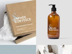 Cosmetic products packaging - ORPHEE & EURYDICE