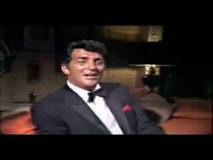 "It does not get any better than this. Dean Martin singing ""Welcome to my World."""