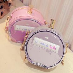 Novo design personalizado fashion carta circular cor frasco de perfume de costura bolsa das senhoras bolsa de ombro messenger bag flap