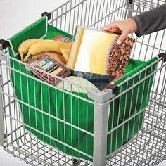 סל קניות רב פעמי ידידותי לסביבה