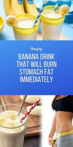 Banana Drink That Will Burn Stomach Fat Immediately Health And Fitness Apps, Health And Wellness Coach, Wellness Fitness, Health Diet, Health And Nutrition, Fitness Diet, Colon Health, Protein Coffee, Healthy Detox