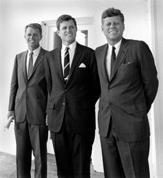 Robert, Ted, and John Kennedy Robert Kennedy, Caroline Kennedy, Jacqueline Kennedy Onassis, Les Kennedy, Ethel Kennedy, First Ladies, George Clooney, Marie Curie, Exclusive Club
