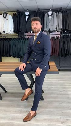 Mens Casual Suits, Stylish Mens Outfits, Formal Suits, Mens Suits Style, Blazers For Men Casual, Men Formal, Blazer Outfits Men, Mens Fashion Blazer, Suit Fashion