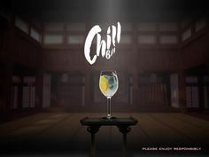 Enjoy a Chill Bill and relax. Kwai Feh - Bitter Lemon - Ice cubes - a slice of Lemon Cheers! Lemon Ice Cubes, Bitter Lemon, Fun Cocktails, Wine Glass, Chill, Neon Signs, Cool Stuff, Cheers, Relax