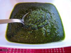 Pesto din Leurda cu Ulei de Seminte de Dovleac