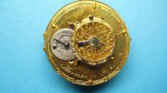 Spindeltaschenuhr von Meinrad Hörmann um 1800. Rückseite