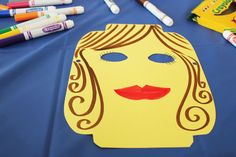 DIY Lego Face Masks- these would be a really fun party activity for kids!