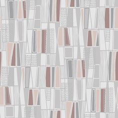 Wall Vision Taavi Retro Geometric Wallpaper - ELLEDecor.com