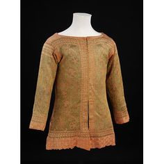 17th century informal knitted waistcoat. Italy, ca. 1630-1700. l Victoria and Albert Museum
