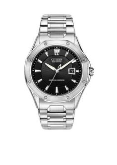 Citizen  Eco-Drive Mens Signature Octavia Perpetual with Anti-Reflecti