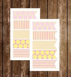 A personal favorite from my Etsy shop https://www.etsy.com/listing/271529332/page-flags-pink-lemonade-planner