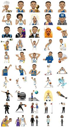 Steph Curry Created His Own Emoji App And It's Kind Of Awesome