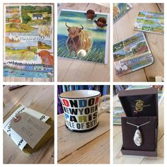 Looking for that something special to remind you of your trip to Skye? Or maybe you're looking for a gift for a friend or relative. We have perfect little gifts related to the Isle of Skye. #ragsonskye #ragamuffinedinburgh #emmaball #richardlang #isleofskyesoapcompany #moorland #twoskies #highlandcow by ragsonskye