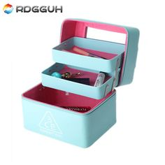 RDGGUH Brand Travel Make Up Bags New Women Brush Necessaries Cosmetic Bag Toiletry Storage Box Makeup Bag Beauty Organizer