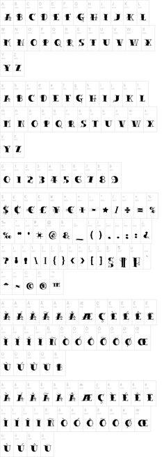 Tattoo Lettering Schriftart | dafont.com