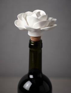 Jasmine Bottle Stopper - $15