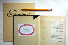 Scalloped Book Plate {Free Download} - in 4 colors