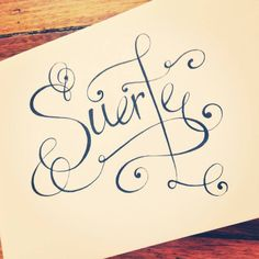 *Lucky* ~ #typography