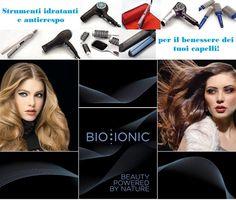 """Asciugatura e piega non devono essere """"violente"""", si devono praticare come un massaggio sui capelli! Gli strumenti professionali Bio Ionic sono gli unici a fare questo: idratano i capelli, li condizionano ed eliminano il crespo, lasciando i capelli sani e permettendo alla piega di durare di più. Ecco perchè la Piega Benessere di Bio Ionic è luce per i tuoi capelli!"""