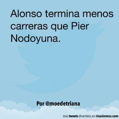 Fernando Alonso y Pier Nodoyuna. #humor #risa #graciosas #chistosas #divertidas