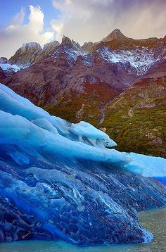 Grey Glacier _DSC5630 by Ken Hornbrook - inspirationalphotoimages.com on Flickr.