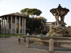Temple de Vesta et fontaine