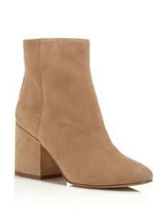 Sam Edelman's pair-with-anything ankle booties in soft suede are a must-have for…