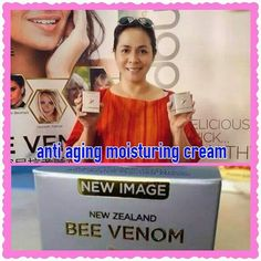 restoring younger, healthier, skin by decreasing the appearance of lines and wrinkles Venom, New Image, Bee, Bottle, Shop, Cards, Honey Bees, Flask, Bees