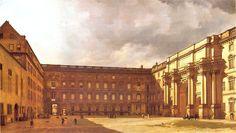 Berliner Schloss Eosanderhof 1830