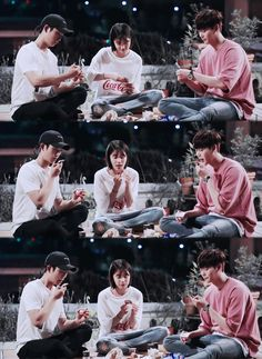 While you were sleeping trio 💗 Jung Suk, Lee Jung, Lee Young Suk, Kpop, Bride Of The Water God, Korean Actors, Korean Dramas, Bright Pictures, W Two Worlds