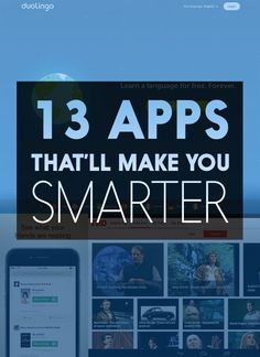 13 Clever Apps That'll Make You Smarter college student tips #college #student