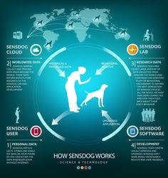 """Το Αpple Watch για σκύλους μόλις εμφανίστηκε! Η νέα αυτή συσκευή υψηλής τεχνολογίας παρακολουθεί από απόσταση τις διαθέσεις, την υγεία, τις μετακινήσεις και άλλα πολλά σε πραγματικό χρόνο. Η πρώτη συμπεριφορική ευφυΐα που βασίζεται στο έξυπνο κολάρο για σκύλους με την ονομασία« Apple Watch για σκύλους"""" το οποίο συνδέεται με το iPhone μόλις κυκλοφόρησε αυτή την εβδομάδα στο Indiegogo . Η συσκευή, SensDog , αναπτύχθηκε από μια ομάδα ανθρώπων που συμπεριλαμβάνει μερικούς από τους κορυφαίους…"""