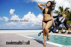 Ashley Grahams Historic Plus-Size Ad Runs In Sports Illustrateds Swimsuit Issue