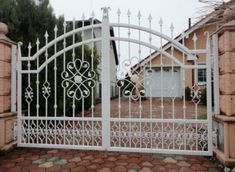 Thumbnail for the listing's main image Grill Gate Design, Front Gate Design, Main Gate Design, Door Gate Design, House Gate Design, Iron Fence Gate, Wrought Iron Driveway Gates, Iron Garden Gates, Modern Steel Gate Design