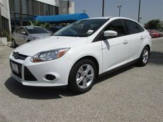 2014 Ford Focus  Oxford White For Sale in San Antonio, TX  Vin: 1FADP3F20EL109402 - http://www.autonet.net/cardealers/texas/mccombsfordwest/cars-for-sale/2014-ford-focus-oxford-white-for-sale-in-san-antonio-tx-vin-1fadp3f20el109402/