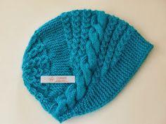 Örgükolik'ten Örgüler: ÇİN BERESİ Knitted Beret, Knit Beanie, Beanie Hats, Baby Knitting Patterns, Knitting Designs, Hand Knitting, Knit Crochet, Crochet Hats, Crochet Videos