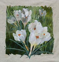 textile collage by Amanda Richardson