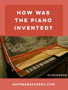 The piano has evolved a great deal over the centuries. Let's find out how we got the pianos that we enjoy today. Piano Lessons For Beginners, Music Keyboard, Piano Teaching, Learning Piano, Best Piano, Beginner Books, Piano Player, Music And Movement, Piano Sheet Music