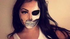 #halloween #halloweenmakeup #skull #makeup #skeleton #sfx #sfxmakeup #costume